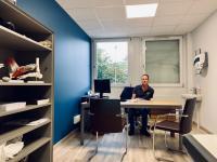 Nouveaux locaux de consultation de chirurgie du pied et de la cheville à Annecy.